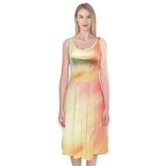 Background Abstract Texture Pattern Midi Sleeveless Dress