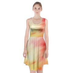 Background Abstract Texture Pattern Racerback Midi Dress