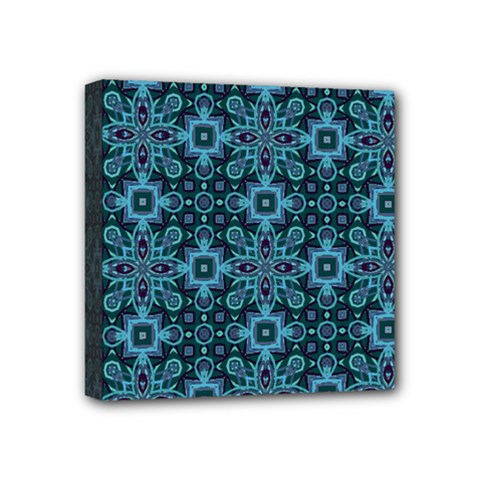 Abstract Pattern Design Texture Mini Canvas 4  x 4