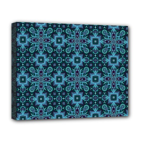 Abstract Pattern Design Texture Deluxe Canvas 20  X 16