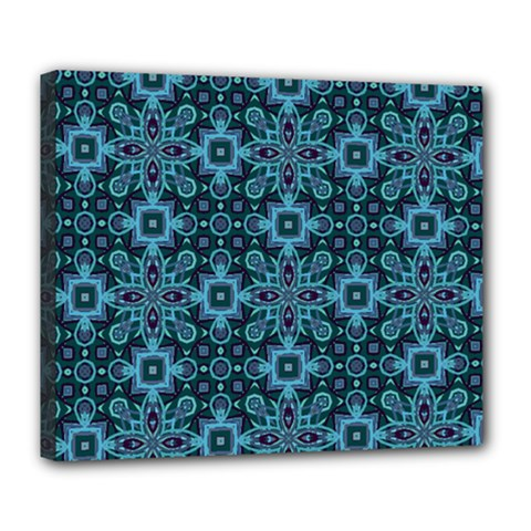 Abstract Pattern Design Texture Deluxe Canvas 24  X 20