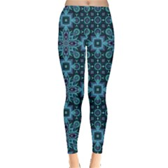 Abstract Pattern Design Texture Leggings