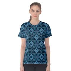 Abstract Pattern Design Texture Women s Cotton Tee