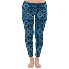 Abstract Pattern Design Texture Classic Winter Leggings