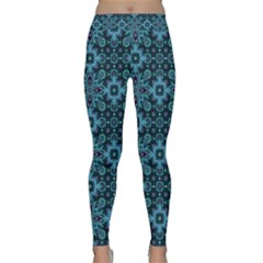Abstract Pattern Design Texture Classic Yoga Leggings