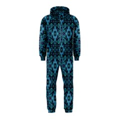 Abstract Pattern Design Texture Hooded Jumpsuit (kids)