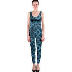 Abstract Pattern Design Texture Onepiece Catsuit