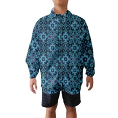 Abstract Pattern Design Texture Wind Breaker (Kids)