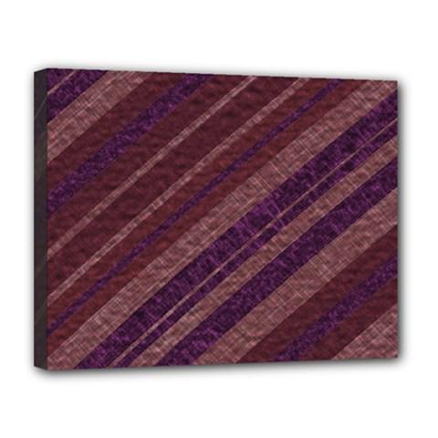 Stripes Course Texture Background Canvas 14  X 11