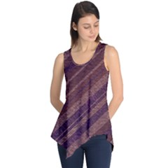 Stripes Course Texture Background Sleeveless Tunic