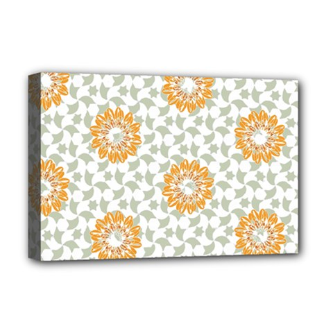 Stamping Pattern Fashion Background Deluxe Canvas 18  x 12