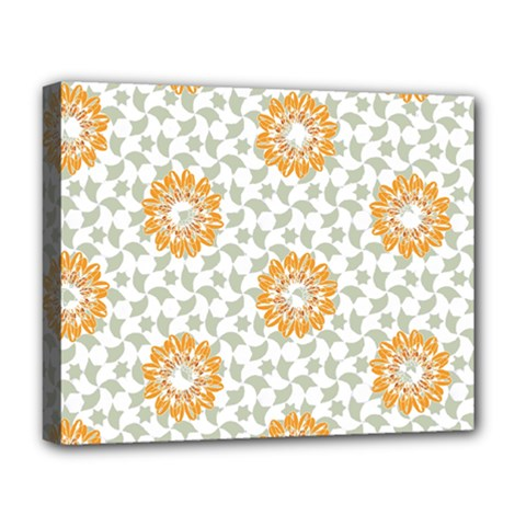 Stamping Pattern Fashion Background Deluxe Canvas 20  x 16