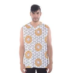 Stamping Pattern Fashion Background Men s Basketball Tank Top