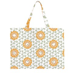 Stamping Pattern Fashion Background Large Tote Bag