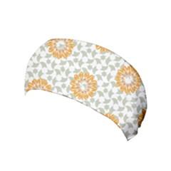 Stamping Pattern Fashion Background Yoga Headband