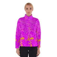 Spring Tropical Floral Palm Bird Winterwear