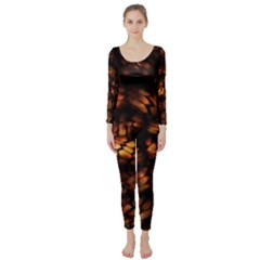 FIRE DRAGON Long Sleeve Catsuit