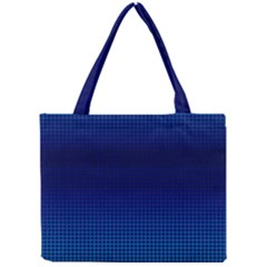 Blue Dot Mini Tote Bag