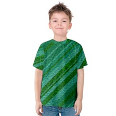 Stripes Course Texture Background Kids  Cotton Tee