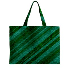 Stripes Course Texture Background Mini Tote Bag