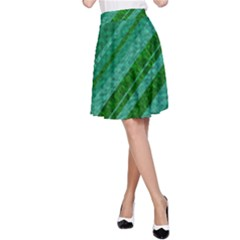 Stripes Course Texture Background A-Line Skirt