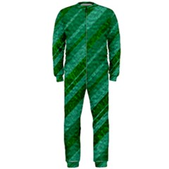 Stripes Course Texture Background OnePiece Jumpsuit (Men)