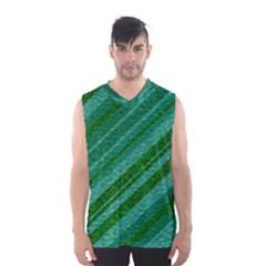 Stripes Course Texture Background Men s Basketball Tank Top