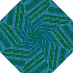 Stripes Course Texture Background Hook Handle Umbrellas (Medium)