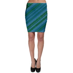 Stripes Course Texture Background Bodycon Skirt