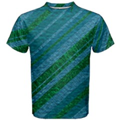 Stripes Course Texture Background Men s Cotton Tee