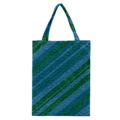 Stripes Course Texture Background Classic Tote Bag