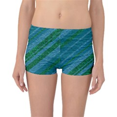 Stripes Course Texture Background Boyleg Bikini Bottoms