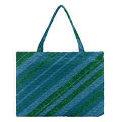 Stripes Course Texture Background Medium Tote Bag