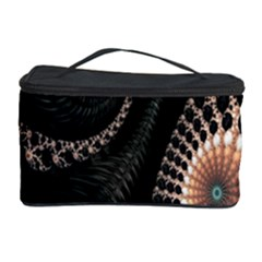 Fractal Black Pearl Abstract Art Cosmetic Storage Case