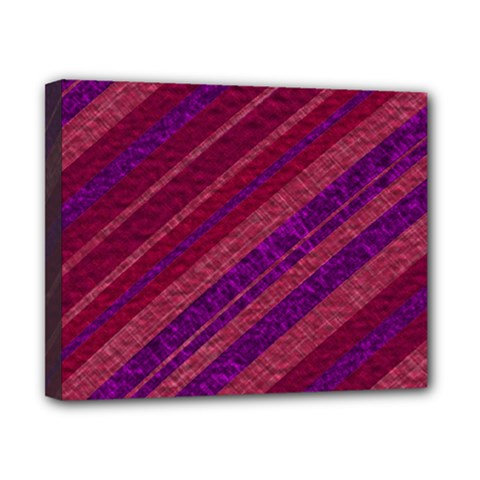 Stripes Course Texture Background Canvas 10  x 8
