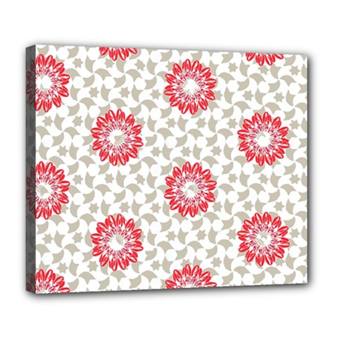 Stamping Pattern Fashion Background Deluxe Canvas 24  x 20