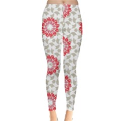 Stamping Pattern Fashion Background Leggings