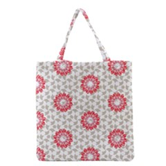 Stamping Pattern Fashion Background Grocery Tote Bag