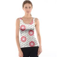 Stamping Pattern Fashion Background Tank Top