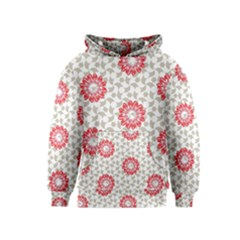 Stamping Pattern Fashion Background Kids  Pullover Hoodie