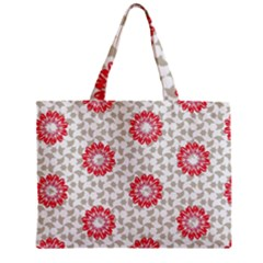 Stamping Pattern Fashion Background Zipper Mini Tote Bag