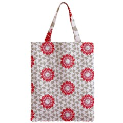 Stamping Pattern Fashion Background Zipper Classic Tote Bag