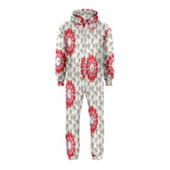 Stamping Pattern Fashion Background Hooded Jumpsuit (Kids)