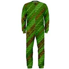 Stripes Course Texture Background Onepiece Jumpsuit (men)