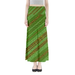 Stripes Course Texture Background Maxi Skirts