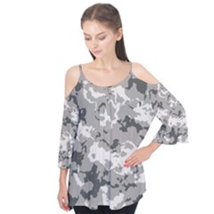 WINTER CAMOUFLAGE Flutter Cotton Tees