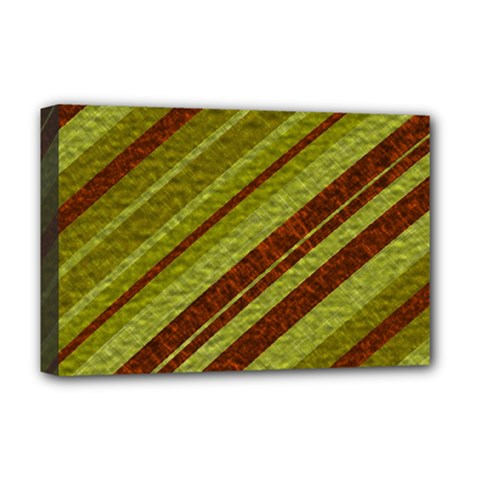 Stripes Course Texture Background Deluxe Canvas 18  x 12