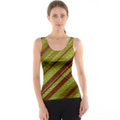 Stripes Course Texture Background Tank Top