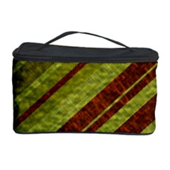 Stripes Course Texture Background Cosmetic Storage Case