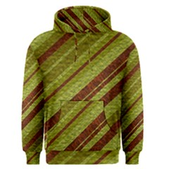Stripes Course Texture Background Men s Pullover Hoodie